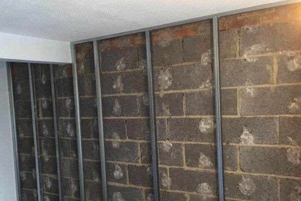 1 Wall - Frame work
