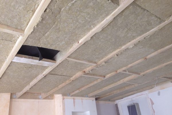 Independent Ceiling 2 with RW3 100mm Rockwool
