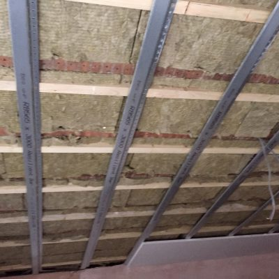 Independent Ceiling 3 with Resilient Bars