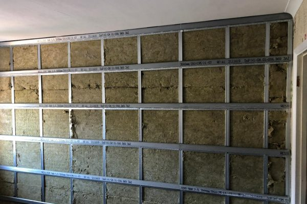 Resilient Bar with RW3 Rockwool (2)