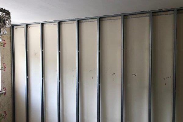 Wall Frame work