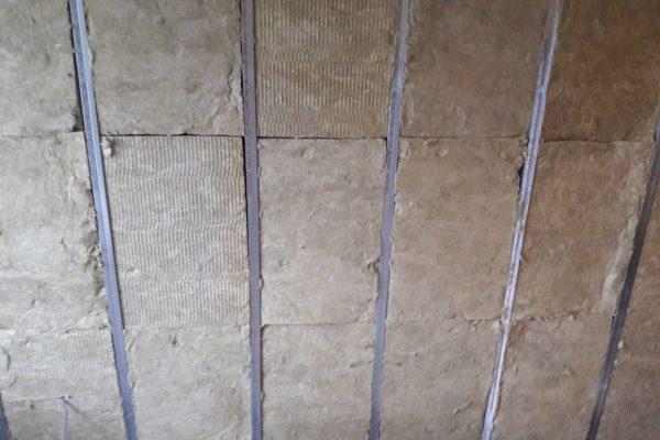 Wall Frame work with RW3 Rockwool